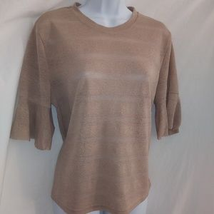 FATFAT BABY Pullover Bell Cuff Blouse